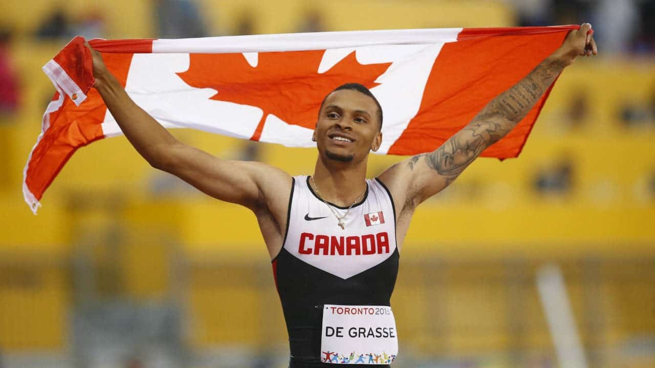 Canada's fastest man Andre De Grasse joining ProSpeakers.com roster of speakers